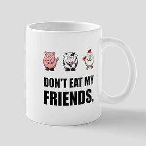 Don't Eat My Friends Mugs