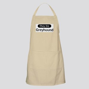 Obey the Greyhound BBQ Apron