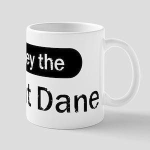 Obey the Great Dane Mug