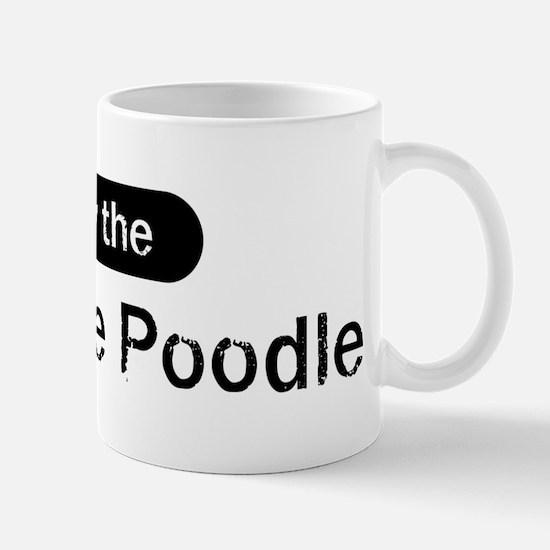 Obey the Miniature Poodle Mug