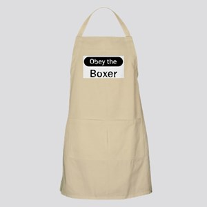 Obey the Boxer BBQ Apron
