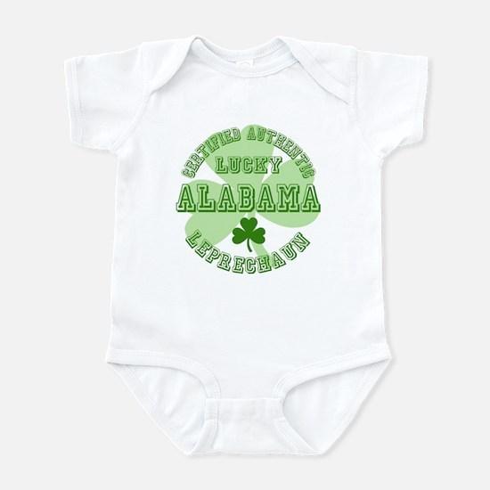 Lucky Alabama Leprechaun Infant Bodysuit
