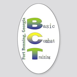 Colorful BCT Oval Sticker