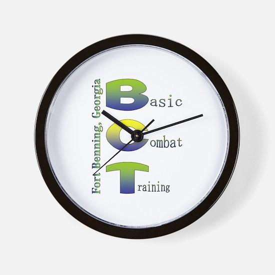 Colorful BCT Wall Clock