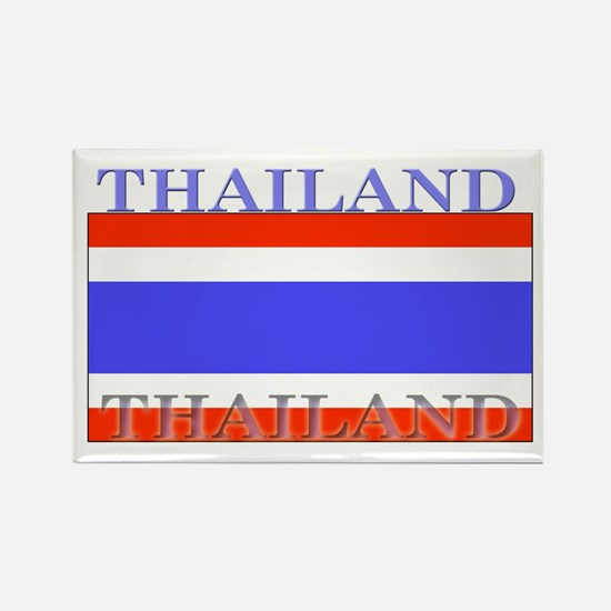 Thailand Thai Flag Rectangle Magnet