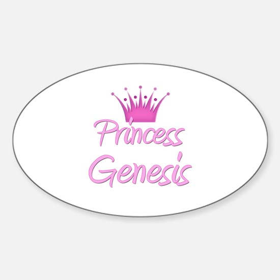 Princess Genesis Oval Decal