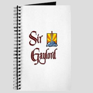 Sir Gaylord Journal