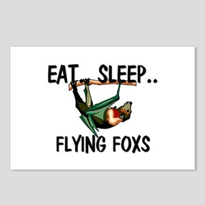 Eat ... Sleep ... FLYING FOXS Postcards (Package o