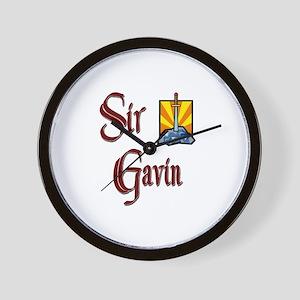Sir Gavin Wall Clock