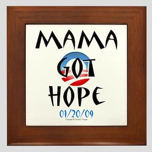 Mama Got Hope Framed Tile