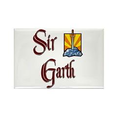 Sir Garth Rectangle Magnet (10 pack)