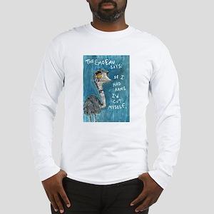 Emo Emu Long Sleeve T-Shirt