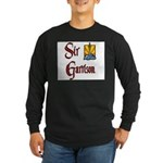 Sir Garrison Long Sleeve Dark T-Shirt