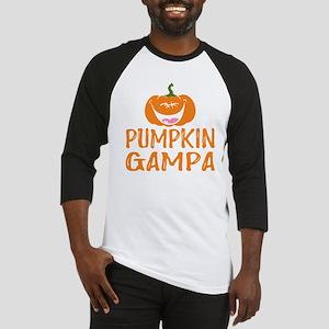 Pumpkin Gampa Cute Halloween Baseball Jersey