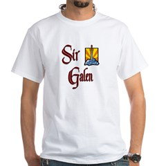 Sir Galen White T-Shirt