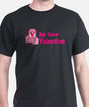 V is for Valentine T-Shirt