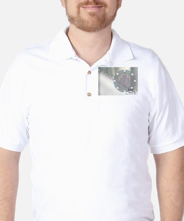 Graphic steps Golf Shirt