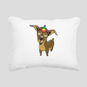Chiweeniecorn Chiweenie Rectangular Canvas Pillow