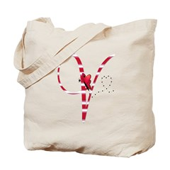 Monogrammed( V) Tote Bag