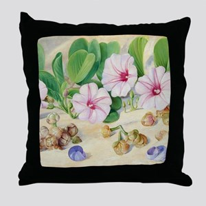 A Common Plant on Sandy Sea-Shores in Throw Pillow