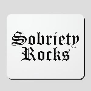 Sobriety Rocks Mousepad
