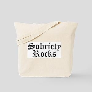 Sobriety Rocks Tote Bag