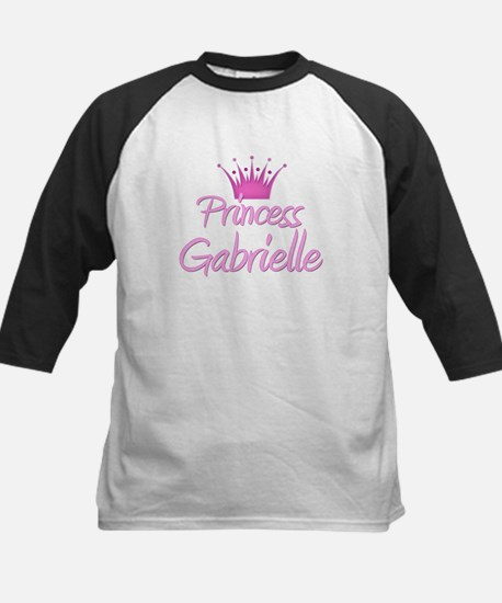 Princess Gabrielle Kids Baseball Jersey