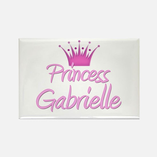 Princess Gabrielle Rectangle Magnet