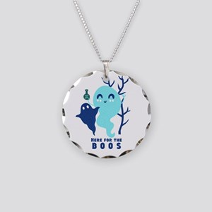 Here for the Boos Ghost Necklace