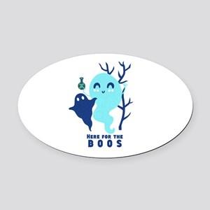 Here for the Boos Ghost Oval Car Magnet