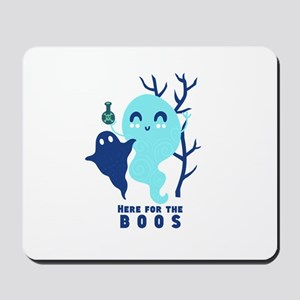 Here for the Boos Ghost Mousepad