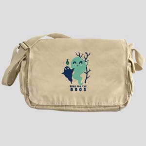 Here for the Boos Ghost Messenger Bag