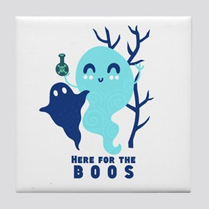 Here for the Boos Ghost Tile Coaster
