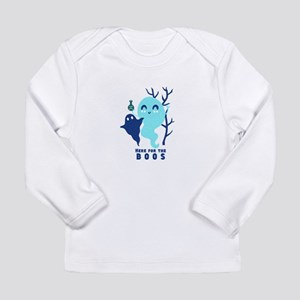Here for the Boos Ghost Long Sleeve T-Shirt