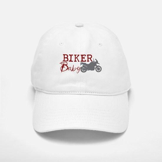 Biker Baby Baseball Baseball Cap