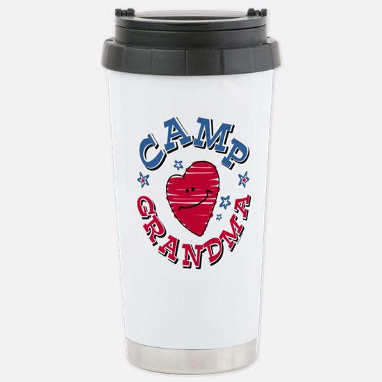 Camp Grandma Stainless Steel Travel Mug