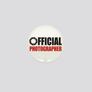 Official Photographer Mini Button