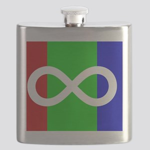 Autism Pride flag Flask