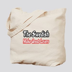 """Swedish...Great Lovers"" Tote Bag"