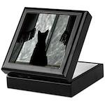 Kitten in Window Keepsake Box