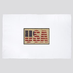 american flag patriot 4' x 6' Rug