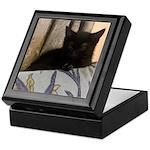 Sleepy Kitty Keepsake Box