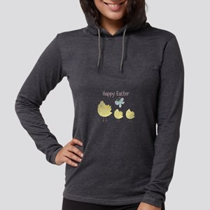 Happy Easter Little Chicks Long Sleeve T-Shirt