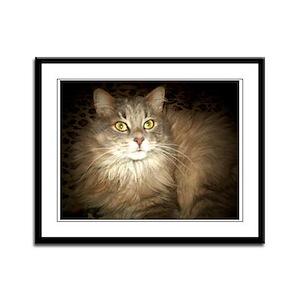 Kitty Wompuss Framed Panel Print