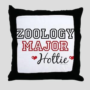Zoology Major Hottie Throw Pillow