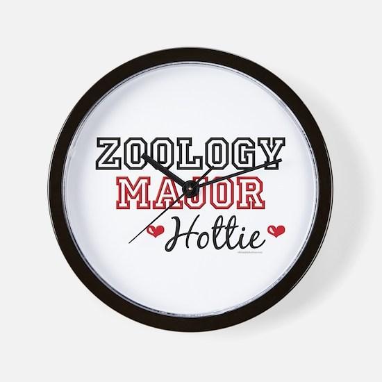 Zoology Major Hottie Wall Clock