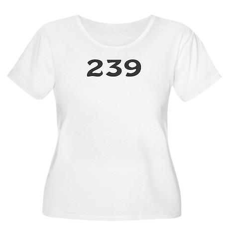 239 Area Code Women's Plus Size Scoop Neck T-Shirt