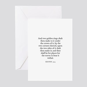 EXODUS  30:4 Greeting Cards (Pk of 10)