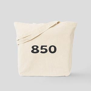 850 Area Code Tote Bag