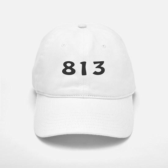 813 Area Code Baseball Baseball Cap